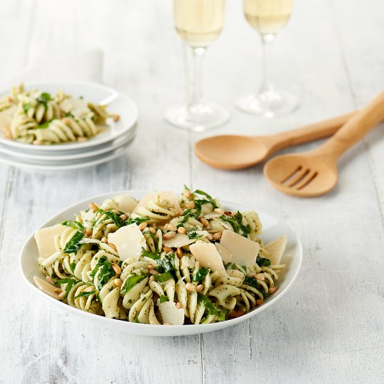 Finest Easy Entertaining Spinach And Pine Nut Pasta Salad 750G
