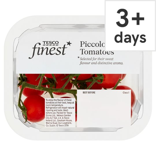 image 1 of Tesco Finest Piccolo Cherry Tomatoes 140G