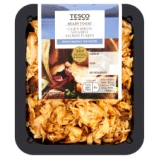 Tesco Cajun Spiced Salmon Flakes 120G