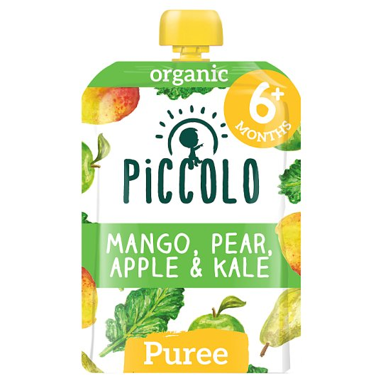 Piccolo Organic Pear Mango And Kale Baby Food 100G