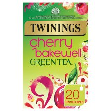 Twinings Green Cherry Bakewell 20 Tea Bags 40G