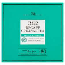 Tesco Decaffeinated 80 Teabags 250G