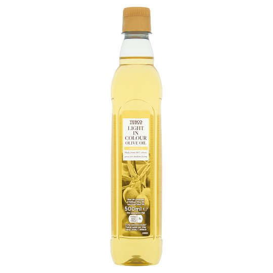 Tesco Light In Colour Olive Oil 500Ml