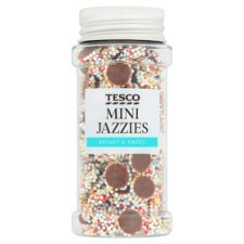 Tesco Sprinkles Mini Jazzies 60G