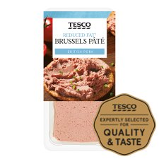 Tesco Reduced Fat Brussels Pate 200G