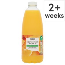 Tesco 100% Pure Squeezed Orange Juice With Bits 1 Litre