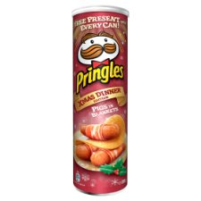 Pringles Limited Edition Pigs In Blankets Christmas Dinner 200G