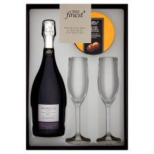 Tesco Finest Prosecco , Truffles And Glass Gift Set