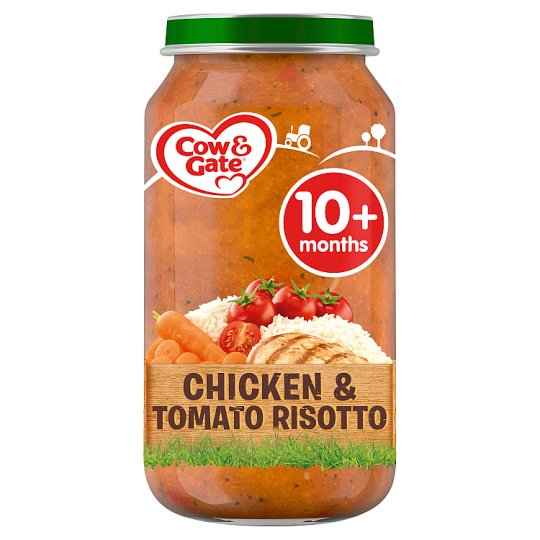 image 1 of Cow & Gate 10Mth+ Chicken And Tomato Risotto 250G Jar