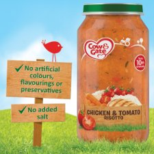 Cow & Gate 10Mth+ Chicken And Tomato Risotto 250G Jar