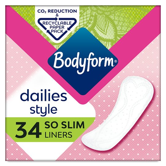Bodyform Light So Slim Pantyliners 34