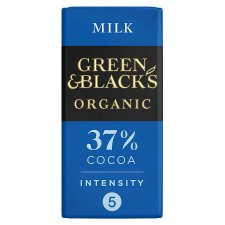 Green And Blacks Organic Milk Chocolate 90G
