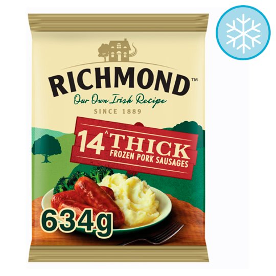 Richmond Thick Sausages 14 Pack 634G