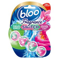 Bloo Fragrance Switch Lily And Apple Rim Block 50G