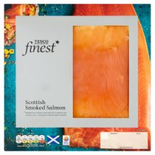 Tesco Finest Smoked Salmon Slices 100G
