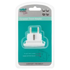 Safe And Sound Euro Travel Adaptor