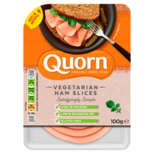 Quorn Vegetarian Ham Slices 100G