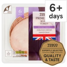 Tesco British Roast Turkey Slices 125 G