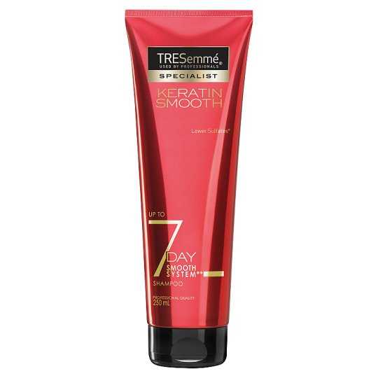 Tresemme Keratin 7 Day Smooth Shampoo 250Ml