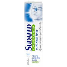 Sudafed Congstn Relief Spray 10Ml