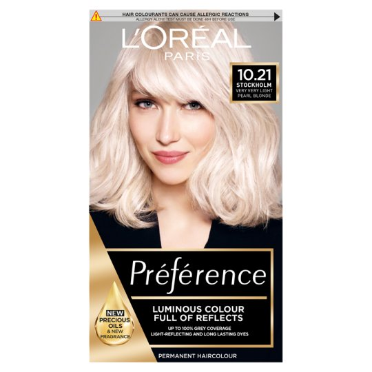 image 1 of L'oreal Paris Preference 10.21 Very Light Pearl Blonde