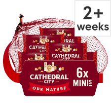Cathedral City Mini Mature Cheddar Cheese 6 Pk, 120 G