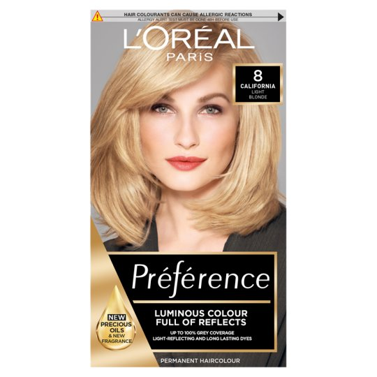 image 1 of L'oreal Paris Preference 8 California Mid Blonde