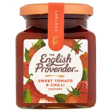 English Provender Sweet Tom And Chilli Chutney 325G