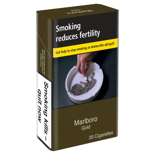 Marlboro Gold King Size 10 X 20 Pack