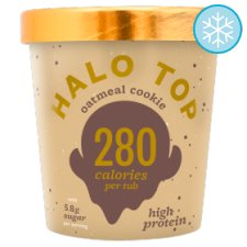 Halo Top Oatmeal Cookie Ice Cream 473Ml