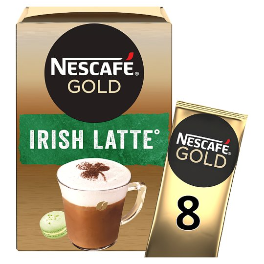 Nescafe Irish Cream Latte Coffee 8 Sachet 176G