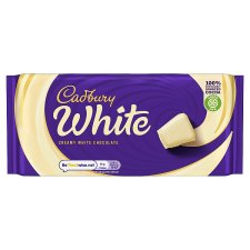 Cadbury White Chocolate 180G