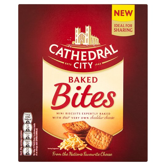 Cathedral City Baked Bites 140G