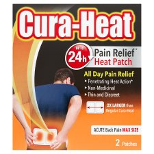 Cura-Heat Max For Severe Back Pain 2S