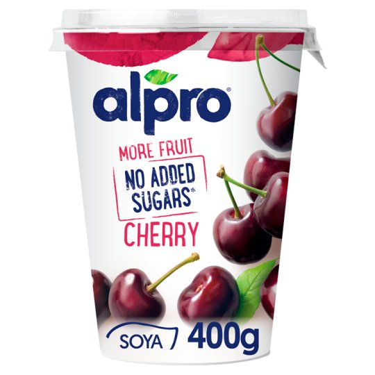 Alpro No Added Sugar Cherry 400G