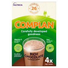 Complan Nutritionaldrink Chocolate 55G X 4