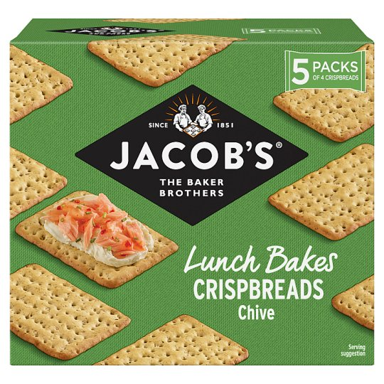 image 1 of Jacobs Chive Crisp Bread 190G