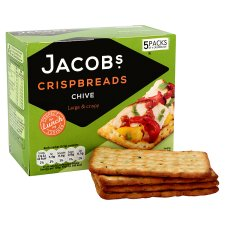 image 2 of Jacobs Chive Crisp Bread 190G