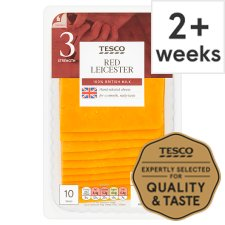 Tesco Red Leicester 10 Slce, 250 G