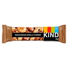 Kind Madagascan Vanilla And Almond Bar 40G