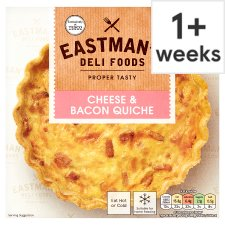 Eastmans Cheese And Bacon Quiche 400G
