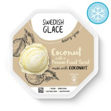 Swedish Glace Coconut Passion Fruit Ice Cream 750Ml