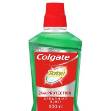 Colgate Total Advanced Spearmint Mouthwash 500Ml
