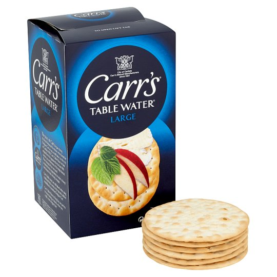 Carrs table water biscuits 200g groceries tesco groceries for Table 52 biscuit recipe