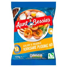 Aunt Bessies Yorkshire Pudding Mix Sachet 120G