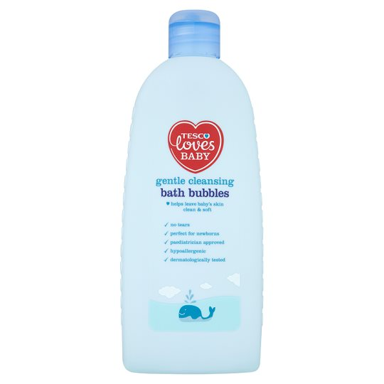 Tesco Loves Baby And Toddler Cleansing Bath Bubbles 500Ml