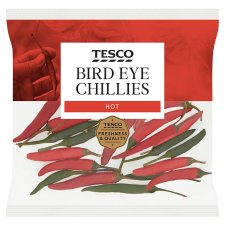 Tesco Bird Eye Chillies 25G