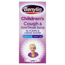 Benylin Kids Dry Cough And Sore Throat 125Ml