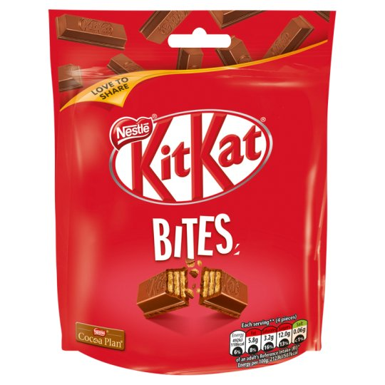 Kit Kat Bites Chocolate Bag 104G