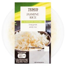 Tesco Jasmine Rice 250G